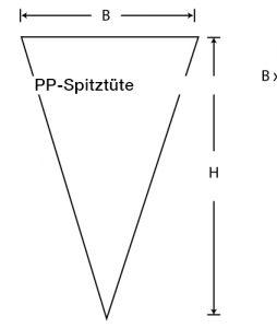 PP-Spitztüten