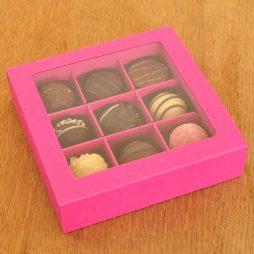 9er Trueffelbox basic_pink
