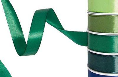 Geschenkband Taft mit Webkante