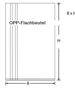 OPP-Flachbeutel