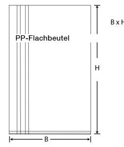 PP-Flachbeutel