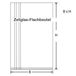 Zellglas-Flachbeutel