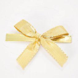 Clip mit Goldschleife