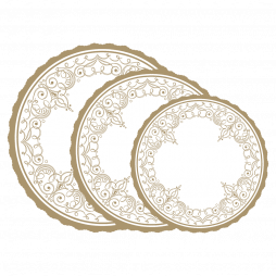 Tortenpapier aus Pergamyn