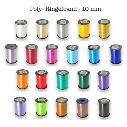 Poly-Ringelband - Breite 10 mm