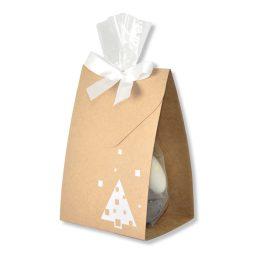 "Beutelwrapper ""Craft Christmas"" weiss"